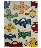 RugStudio presents Nuloom Hand Tufted Aeroplane Natural Hand-Tufted, Good Quality Area Rug