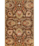 RugStudio presents Nuloom Hand Tufted Aurel Chocolate Hand-Tufted, Good Quality Area Rug