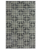 RugStudio presents Nuloom Modella Squared Trellis Nickel Hand-Tufted, Good Quality Area Rug