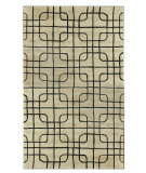 RugStudio presents Nuloom Modella Squared Trellis Stone Hand-Tufted, Good Quality Area Rug