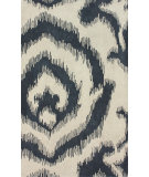 RugStudio presents Nuloom Hand Tufted Lotus Dark Grey Hand-Tufted, Best Quality Area Rug