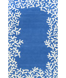 RugStudio presents Nuloom Hand Tufted Frederick Blue Hand-Tufted, Good Quality Area Rug