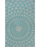 RugStudio presents Nuloom Hand Tufted Ozo Aqua Hand-Tufted, Good Quality Area Rug