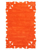 RugStudio presents Nuloom Hand Tufted Gustav Orange Hand-Tufted, Good Quality Area Rug