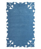 RugStudio presents Nuloom Hand Tufted Gustav Turquoise Hand-Tufted, Good Quality Area Rug