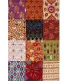 RugStudio presents Nuloom Hand Tufted Quilted Multi Hand-Tufted, Good Quality Area Rug