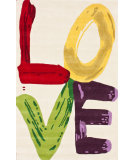 RugStudio presents Nuloom Hand Tufted Love Natural Hand-Tufted, Good Quality Area Rug