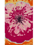 RugStudio presents Nuloom Hand Tufted Gina Bubble Gum Hand-Tufted, Good Quality Area Rug