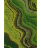 RugStudio presents Nuloom Hand Tufted Rumor Green Multi Hand-Tufted, Good Quality Area Rug