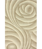 RugStudio presents Nuloom Hand Tufted Roxanna Beige Hand-Tufted, Good Quality Area Rug