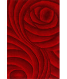 RugStudio presents Nuloom Hand Tufted Roxanna Red Hand-Tufted, Good Quality Area Rug