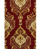 RugStudio presents Nuloom Hand Tufted Priah Red Hand-Tufted, Good Quality Area Rug