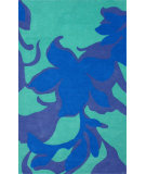 RugStudio presents Nuloom Hand Tufted Kyoto Blue Hand-Tufted, Good Quality Area Rug