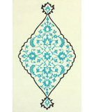 RugStudio presents Nuloom Hand Tufted Marissa Teal Hand-Tufted, Good Quality Area Rug