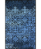 RugStudio presents Nuloom Hand Tufted Grenada Blue Hand-Tufted, Good Quality Area Rug