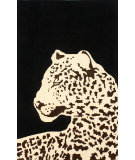 RugStudio presents Nuloom Hand Tufted Cheetah Black Hand-Tufted, Good Quality Area Rug