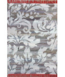 RugStudio presents Nuloom Flatwoven Forest Fringe Blue Flat-Woven Area Rug