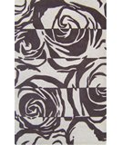 RugStudio presents Nuloom Modella Graphic Flor Brown Hand-Tufted, Good Quality Area Rug