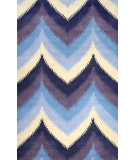 RugStudio presents Nuloom Hand Tufted Devin Blue Hand-Tufted, Good Quality Area Rug