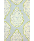 RugStudio presents Nuloom Hand Tufted Eduardo Baby Blue Hand-Tufted, Good Quality Area Rug
