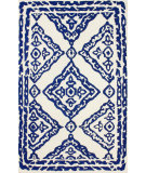 RugStudio presents Nuloom Hand Tufted Suzette Navy Hand-Tufted, Good Quality Area Rug