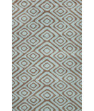 RugStudio presents Nuloom Hand Tufted Edith Light Blue Hand-Tufted, Good Quality Area Rug