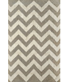 RugStudio presents Nuloom Flatweave Glenn Grey Flat-Woven Area Rug