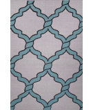 RugStudio presents Nuloom Flatweave Derrick Light Blue Flat-Woven Area Rug