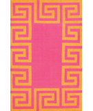 RugStudio presents Nuloom Flatweave Ruth Orange Flat-Woven Area Rug
