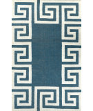 RugStudio presents Nuloom Flatweave Ruth Navy Flat-Woven Area Rug