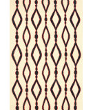 RugStudio presents Nuloom Flatweave Wanda Black Flat-Woven Area Rug