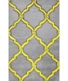 RugStudio presents Nuloom Hand Tufted Genevieve Yellow Hand-Tufted, Good Quality Area Rug