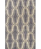 RugStudio presents Nuloom Hand Tufted Lorraine Grey Hand-Tufted, Good Quality Area Rug