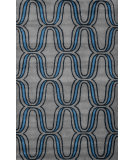 RugStudio presents Nuloom Hand Tufted Lorraine Blue Hand-Tufted, Good Quality Area Rug