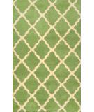 RugStudio presents Nuloom Hand Tufted Elias Green Hand-Tufted, Good Quality Area Rug