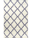 RugStudio presents Nuloom Hand Tufted Elias Ivory Hand-Tufted, Good Quality Area Rug