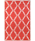 RugStudio presents Nuloom Hand Tufted Bold Trellis Red Hand-Tufted, Good Quality Area Rug
