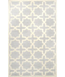 RugStudio presents Nuloom Hand Hooked Hive Trellis Light Grey Hand-Hooked Area Rug