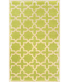 RugStudio presents Nuloom Hand Hooked Hive Trellis Light Green Hand-Hooked Area Rug