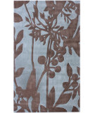 RugStudio presents Nuloom Cine Serenity Blue Hand-Tufted, Good Quality Area Rug