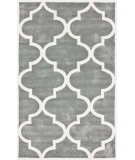 RugStudio presents Nuloom Cine Contempo Trellis Slate Hand-Tufted, Good Quality Area Rug