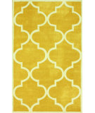 RugStudio presents Nuloom Hand Tufted Contempo Trellis Mustard Hand-Tufted, Good Quality Area Rug