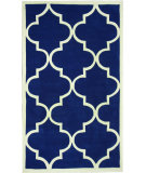 RugStudio presents Nuloom Hand Tufted Contempo Trellis Pacific Blue Hand-Tufted, Good Quality Area Rug