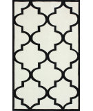 RugStudio presents Nuloom Hand Tufted Contempo Trellis White Hand-Tufted, Good Quality Area Rug