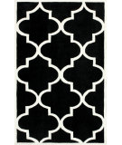 RugStudio presents Nuloom Hand Tufted Contempo Trellis Black Hand-Tufted, Good Quality Area Rug