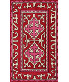 RugStudio presents Nuloom Hand Tufted Shyrak Red Hand-Tufted, Good Quality Area Rug
