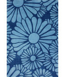 RugStudio presents Nuloom Hand Tufted Daisy Blue Hand-Tufted, Good Quality Area Rug