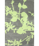 RugStudio presents Nuloom Hand Tufted Baron Green Hand-Tufted, Good Quality Area Rug