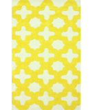 RugStudio presents Nuloom Hand Tufted Leah Yellow Hand-Tufted, Good Quality Area Rug
