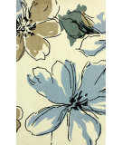 RugStudio presents Nuloom Hand Tufted Melina Light Blue Hand-Tufted, Good Quality Area Rug